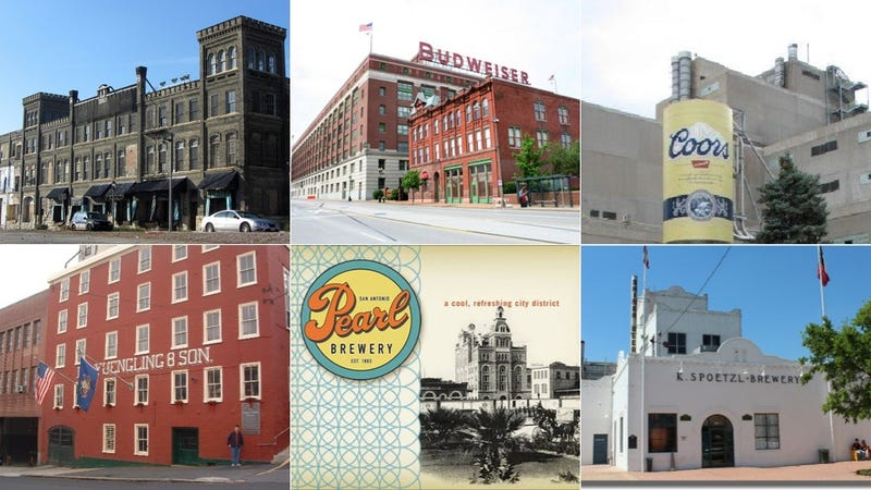 Illustration for article titled Beer Architecture: 9 Classic American Breweries