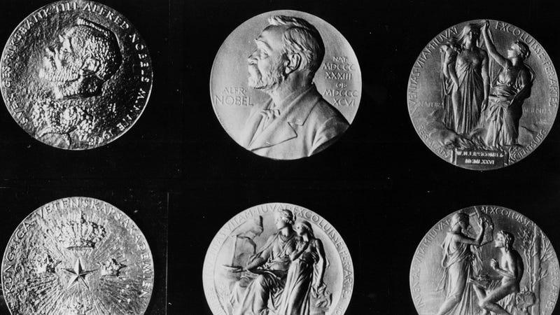 Nobel Prize medals