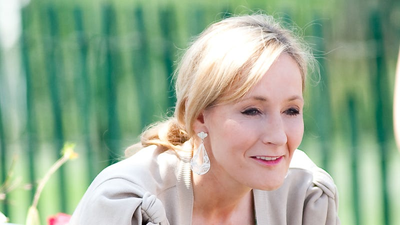 """Illustration for article titled JK Rowling: """"The MacBook Air Changed My Life"""""""