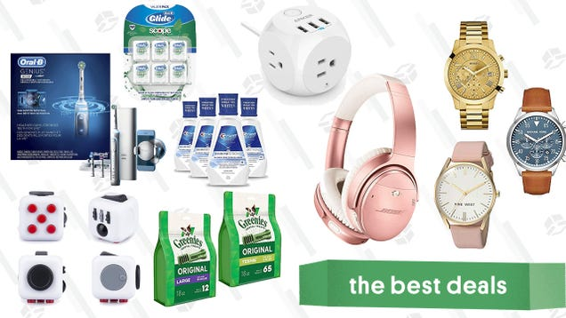 Monday s Best Deals: Oral-B Gold Box, Anker Headphones, Greenies, and More