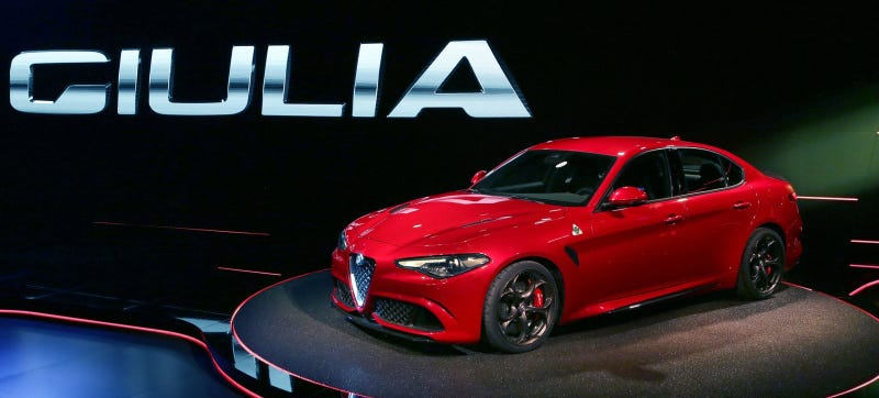 Illustration for article titled Oh Good:Alfa Romeo Giulia Developed In Only Two And A Half Years