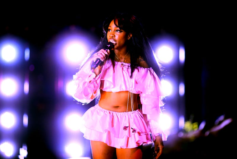 SZA performs onstage during the 2018 Coachella Valley Music And Arts Festival on April 13, 2018 in Indio, Calif.