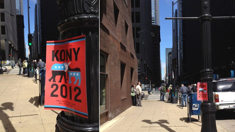 Illustration for article titled So How Did the Kony 2012 Poster Party Go?