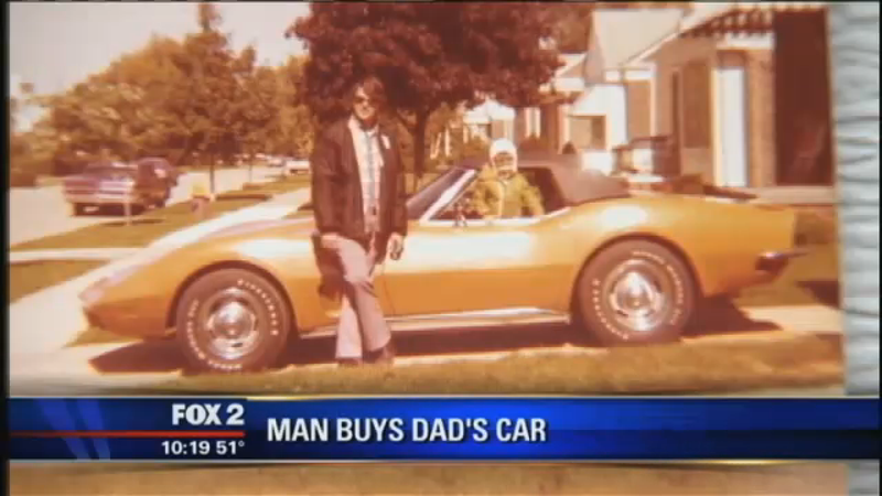 Illustration for article titled Son Buys Late Dad's Corvette Almost 40 Years After Mom Sold It