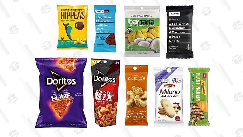 Snack Sample Box | $10 | Amazon | Plus $10 credit towards a future snack purchase