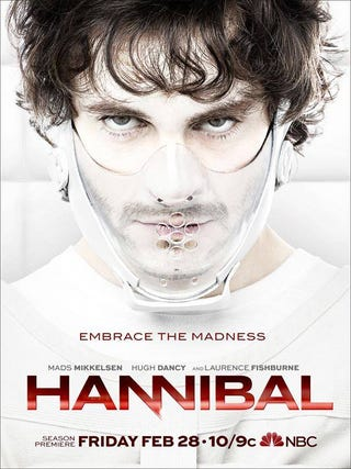 Illustration for article titled Hannibal Returns February 28 With Human Sushi. You're Welcome.