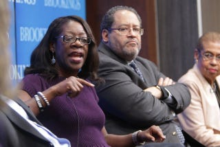 Dayna Bowen Matthew, Michael Eric Dyson, and Eleanor Holmes NortonSharon Farmer and the Brookings Institution