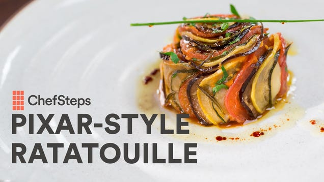 Make Ratatouille That Looks Like It Came Right Out of the Pixar Movie