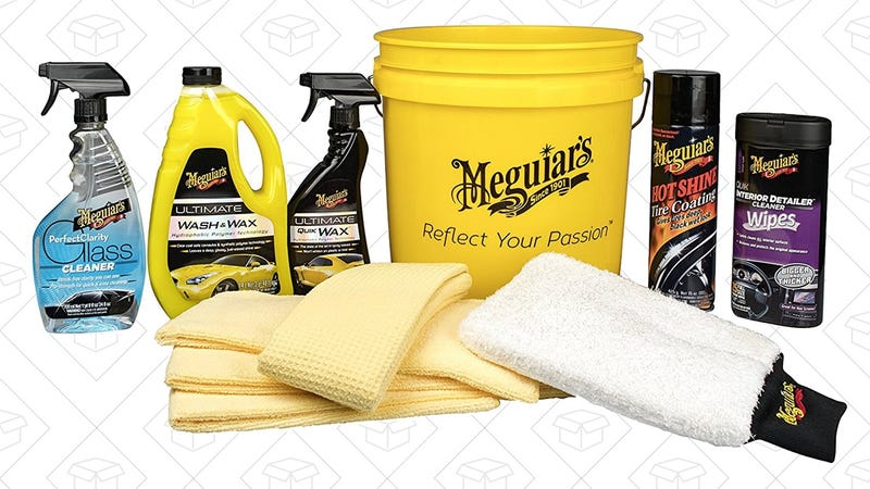 Meguiar's Essentials Car Care Kit | $47 | Amazon