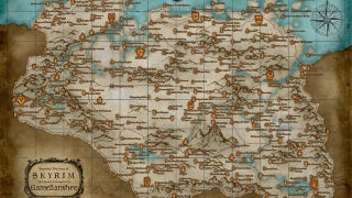 Illustration for article titled An Annotated Map of Skyrim Big Enough to Put on Your Wall