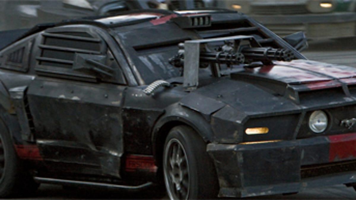 The Cars Of Death Race