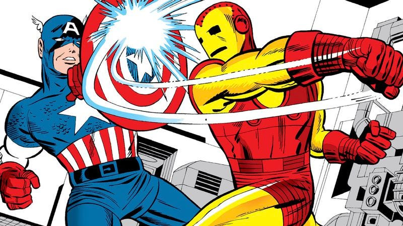 Illustration for article titled Why the Civil War between Captain America and Iron Man is inevitable