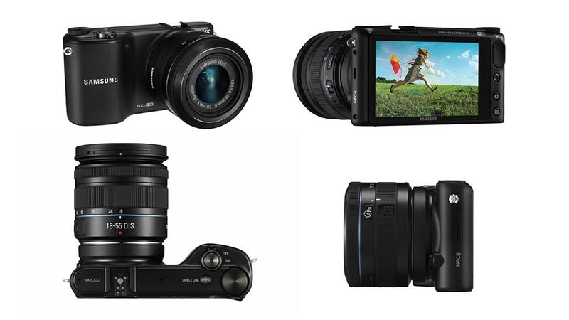 Illustration for article titled Samsung NX2000:   A Fancy Camera That's Dumb Like a Smartphone