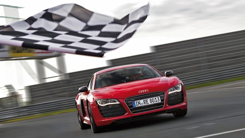 Illustration for article titled The Record-Breaking Electric Audi R8 E-Tron Is Reportedly Dead