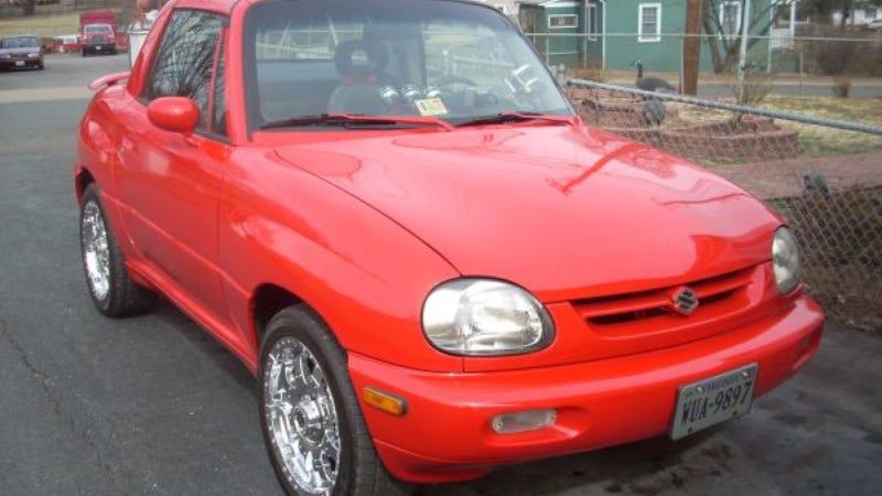 Suzuki Mini Suv >> This Crazy Suzuki Mini Suv Has A Chevy Small Block V8