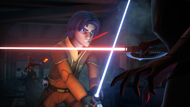 Illustration for article titled Star Wars Rebels Just Sent Shockwaves Across The Entire Star Wars Galaxy