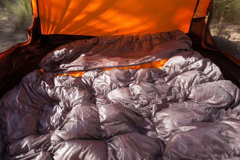 wholesale dealer 4d5cb d7eaa Adventure Tested: Nemo Tango Duo Slim Two-Person Sleeping Bag
