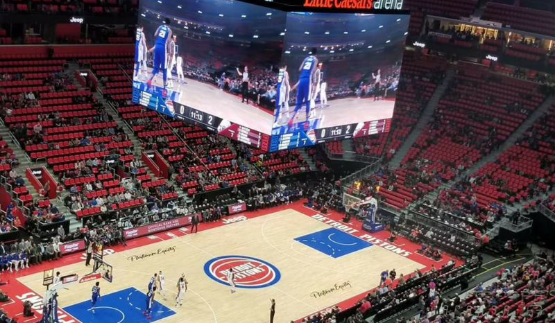 Illustration for article titled Detroit Arena To Replace Conspicuously Empty Red Seats With Less ConspicuouslyEmpty Black Seats