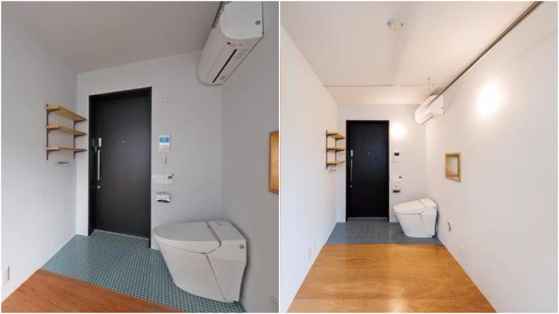 apartments inside bathroom.  What A Crappy Tokyo Apartment
