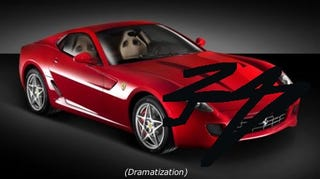 Illustration for article titled Oh No, Sergio! Fiat CEO Survives Crash, 599 GTB Totaled