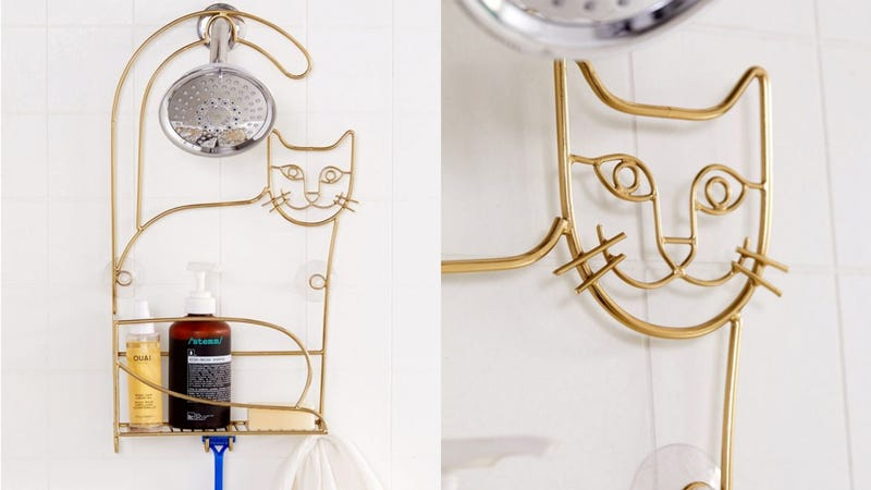 Cat Shower Caddy | $39 | Urban Outfitters