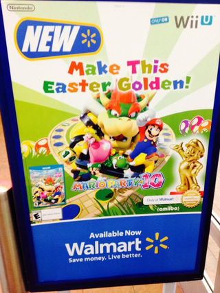 Illustration for article titled Gold Mario amiibo is Real... and a Wal-Mart Exclusiveಠ_ಠ