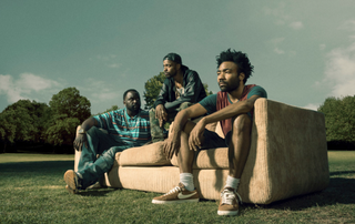 Brian Tyree Henry, Keith Stanfield and Donald Glover in a scene from FX's AtlantaFX screenshot