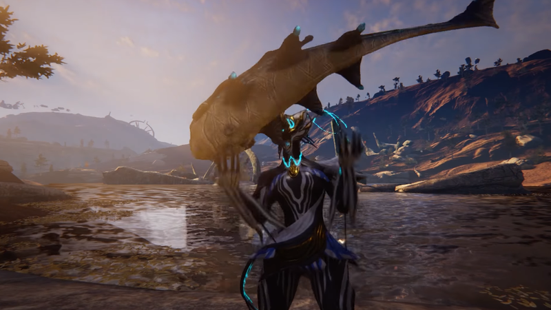 Warframe 39 s fish are acting a little strange for How to fish in warframe