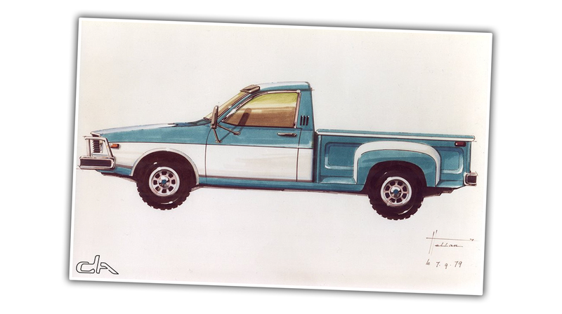 Illustration for article titled This Rarely-Seen Sketch Suggests An Alternate History From When Renault Bought AMC