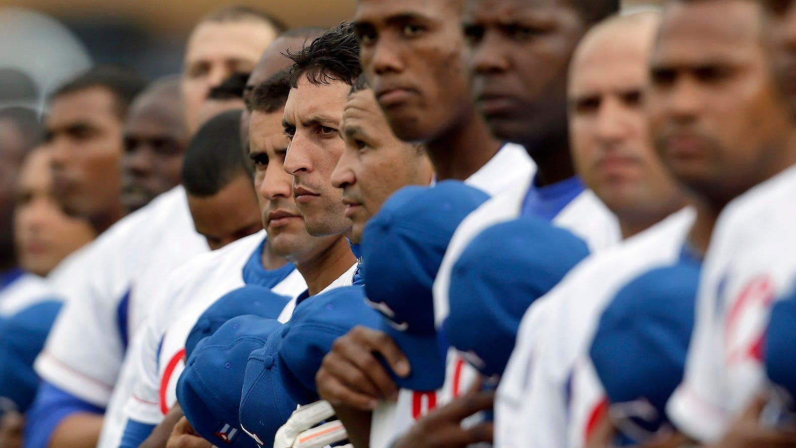 smuggling cuban baseball players essay