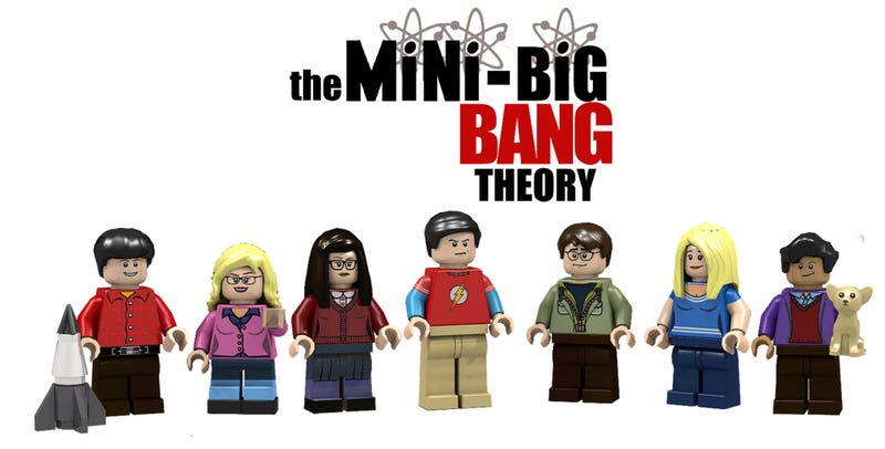 Illustration for article titled Lego will make an official The Big Bang Theory set
