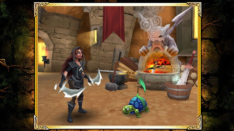 Illustration for article titled Free-to-Play Fantasy MMO Arcane Legends Launches on Android  and Chrome
