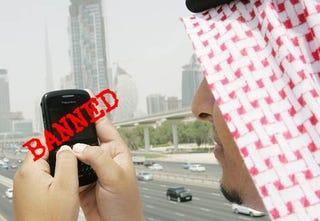 Illustration for article titled UAE Bans Everything BlackBerry On October 11