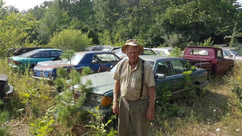 Ron Dauzet, A Michigan Man Whose Township Is Forcing Him To Rapidly Get Rid  Of His Enormous Car Collection, Is Selling Them Off As Heu0027s Required To Do.