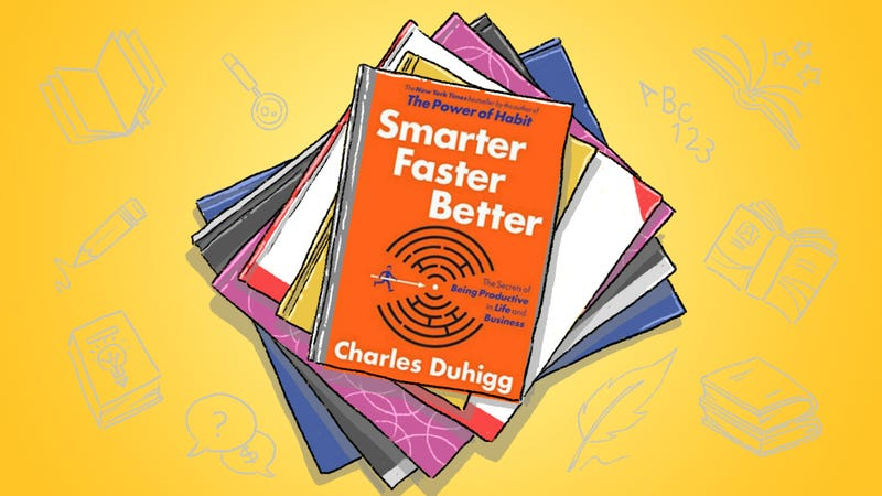 Illustration for article titled Smarter Faster Better: How to Apply the Science of Productivity to Your Own Habits