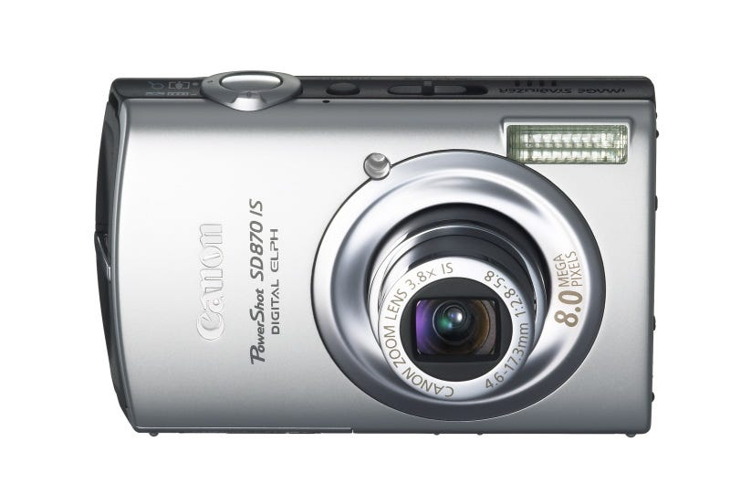 Illustration for article titled Two New ELPH Cameras from Canon, SD950 and SD870