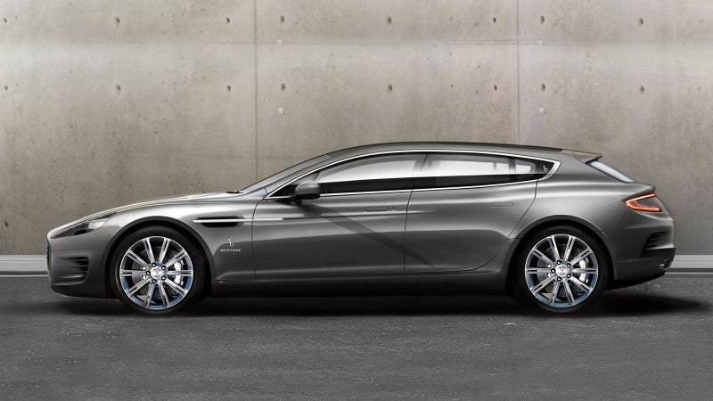 Illustration for article titled This Aston Martin Rapide Wagon Is Sextastic