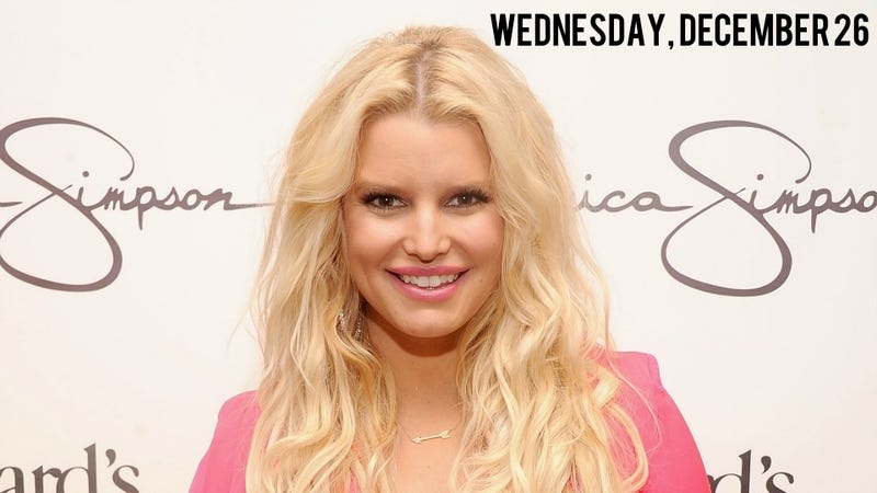 Illustration for article titled Jessica Simpson Finally Confirms She Has a Baby In Her Again