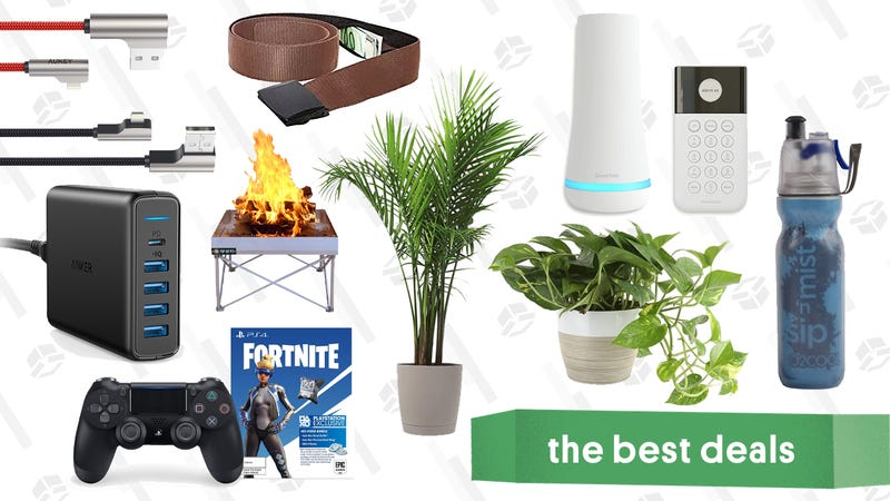 Illustration for article titled Thursday's Best Deals: Indoor Plant Sale, Mountain Hardwear, USB-C to Lightning Cable, and More