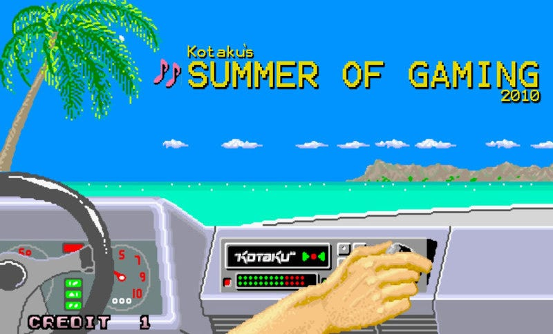 Illustration for article titled In the Summertime, When the Gaming's Good