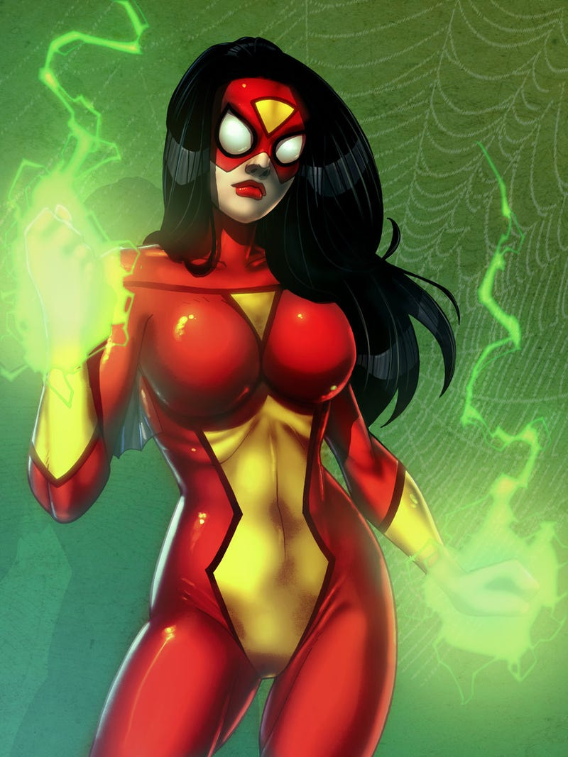 Illustration for article titled The Spider-Woman Pose in 3D