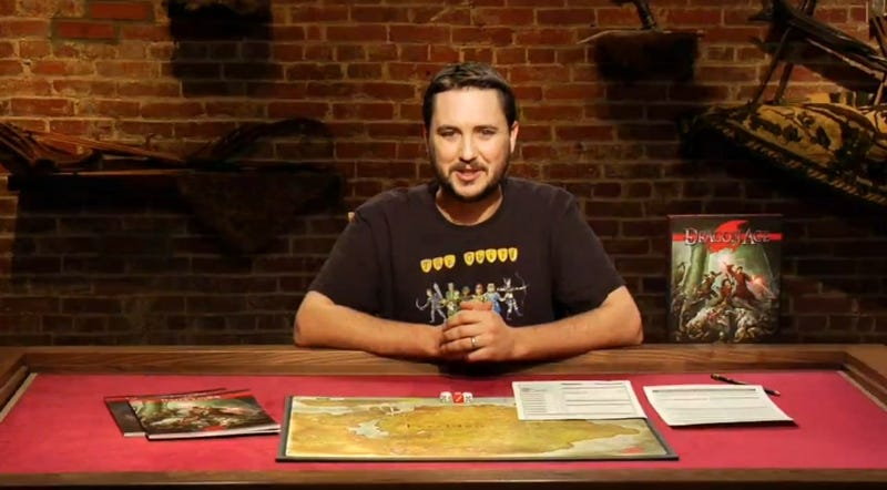 Illustration for article titled Wil Wheaton's Tabletop is going full RPG!