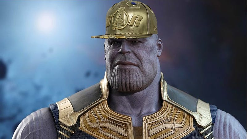 Forget The Gauntlet Thanos Looks Far More Intimidating In