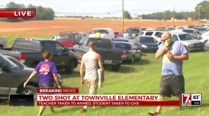 School shooting in Townville, SC Elem. School.WSPA.com