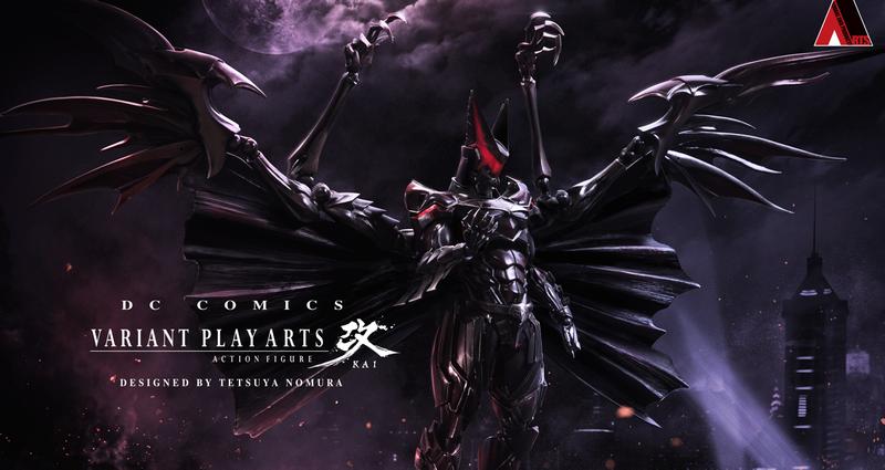 Illustration for article titled Así sería Batman imaginado por el creador de Kingdom Hearts