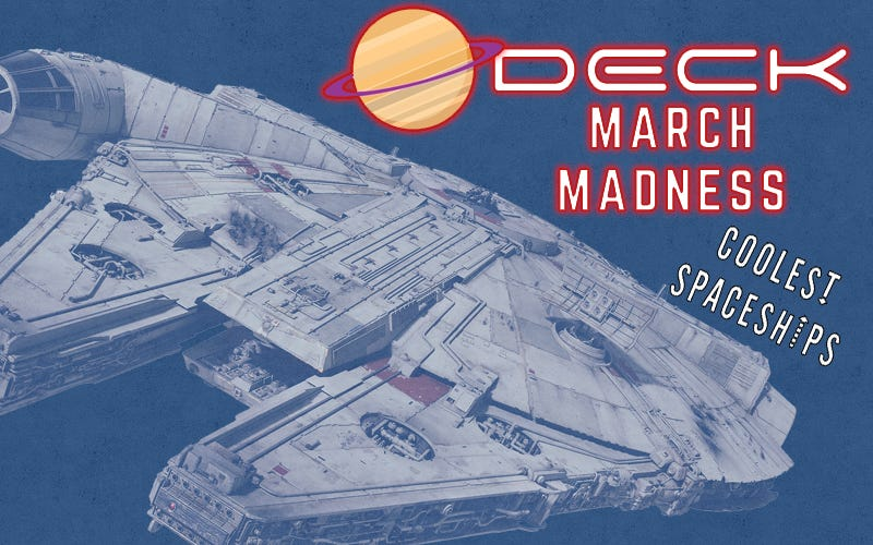 Illustration for article titled March Madness Coolest Spaceships Winner: Millennium Falcon