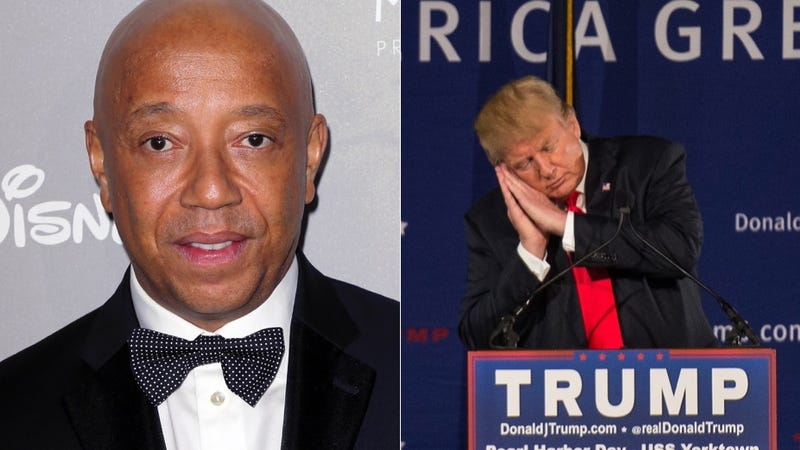 Illustration for article titled Russell Simmons Urges His Friend Donald Trump to Stop Destroying Peoples' Lives. Hm.