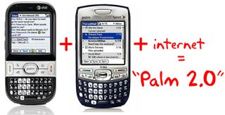 """Illustration for article titled Next-Gen Palm OS Will Be """"Between Centro and Treo,"""" All About the Internets"""