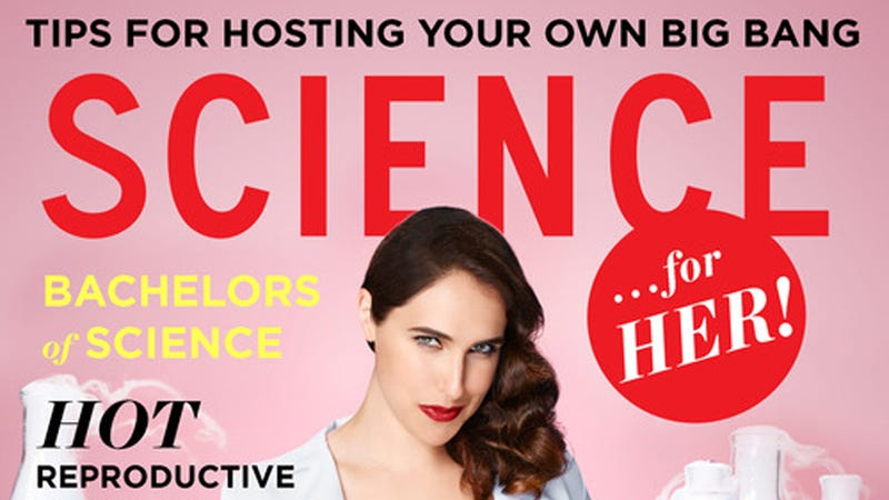 Illustration for article titled Megan Amram's 'Science...For Her!' Looks Amazing
