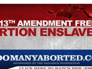 Illustration for article titled '13th Amendment Freed': Abortion Enslaves?